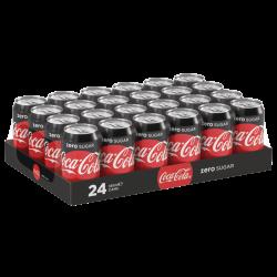 Coca Cola Zero 24x0,33 CANS
