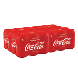 Coca Cola 6x0,33 CANS
