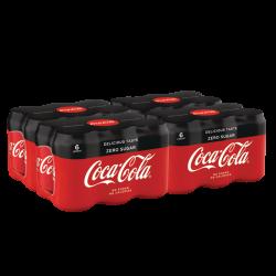 Coca Cola Zero 6x0,33 CANS