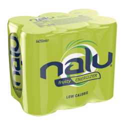 Nalu Fruity Energy 6x0,25 CANS